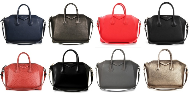 Givenchy Antigona glossy leather Handbag