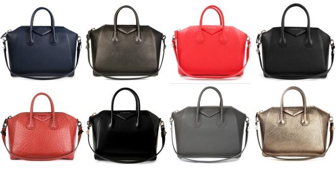 Givenchy Antigona glossy leather Handbag