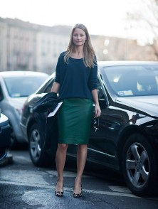 how to wear blue with green (9)
