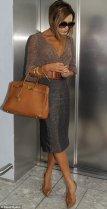 Victoria Beckham Birkin bag collection from Hermes brown 028
