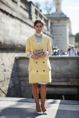 miroslava duma yellow citrus coat