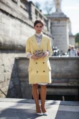 miroslava duma yellow citrus coat