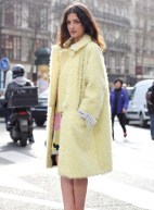 pastel+trends+fuzzy+coat+street%20style+fashion-yellow