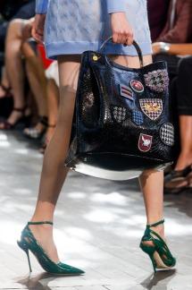 Dior-Black-Python-Embellished-Tote-Bag-Runway-Spring-2014