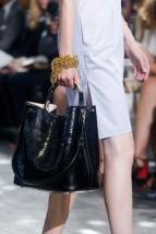 Dior-Black-Python-Tote-Bag-Runway-Spring-2014
