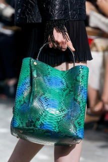 Dior-BlueGreen-Python-Tote-Bag-Runway-Spring-2014