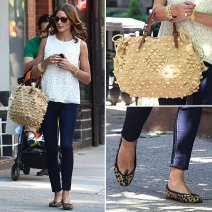 Olivia-Palermo-White-Top-Jeans-NYC