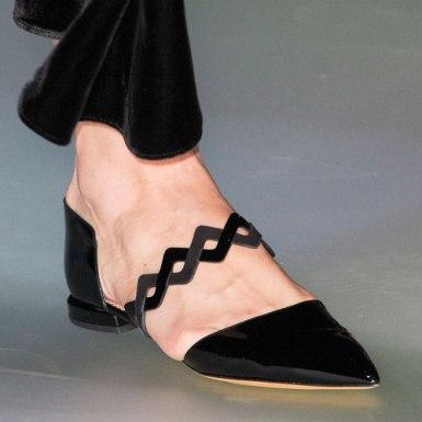 Emporio-Armani-Fall-2014-pointy-toe-patent-flat