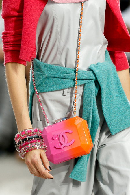 Chanel-Plexi-Orange-and-red-bag