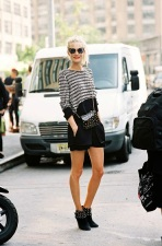 Le-Fashion-Blog-Street-Style-Black-And-White-Poppy-Delevingne-Shorts-Studded-Boots-By-Vanessa-Jackman