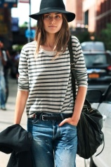 Street-style-denim-striped-long-sleeved-PS1-by-Proenza-Schouler-and-Rag-Bone-hat