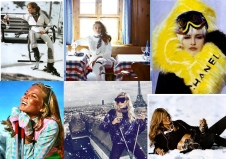 Skibunny-Collage